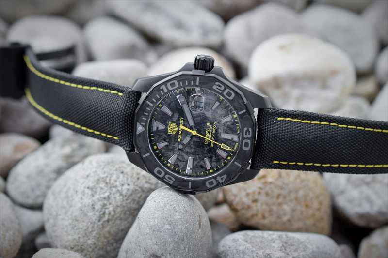 TAG Heuer Carbon Aquaracer Calibre 5 Special Series – a New Trilogy of Divers with Carbon Details