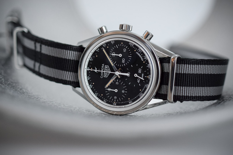 TAG Heuer Carrera Fragment – Retro-Style and Calibre Heuer 02