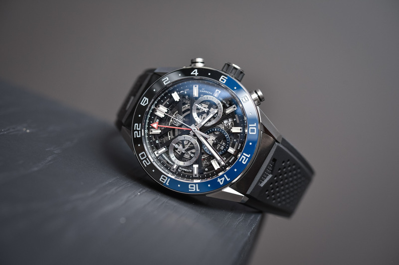 TAG Heuer Carrera Heuer 02 GMT Chronograph – Travelling in the Fast Lane