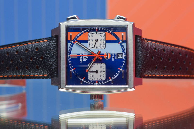 TAG Heuer Monaco Calibre 11 Gulf 50th Anniversary CAW211T (Very) Limited Edition