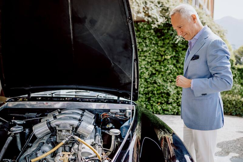 Talking Cars (and watches) with Wilhelm Schmid, CEO of A. Lange & Söhne, at Concorso d'Eleganza Villa d'Este