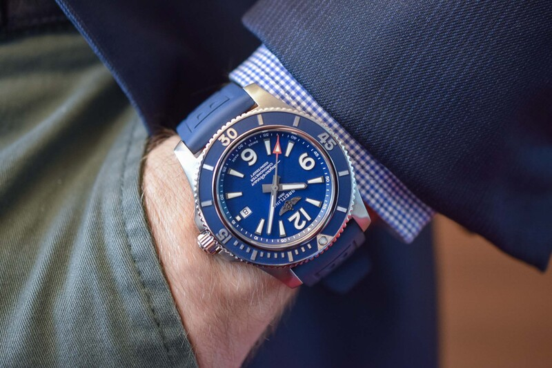The 2019 Breitling Superocean Automatic 44