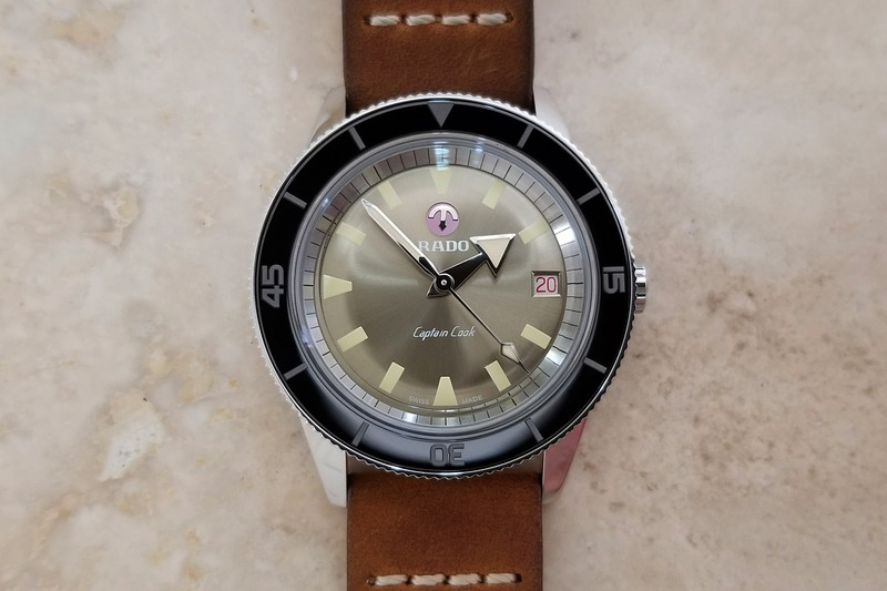 The 2019 Rado Captain Cook Limited Edition 37mm