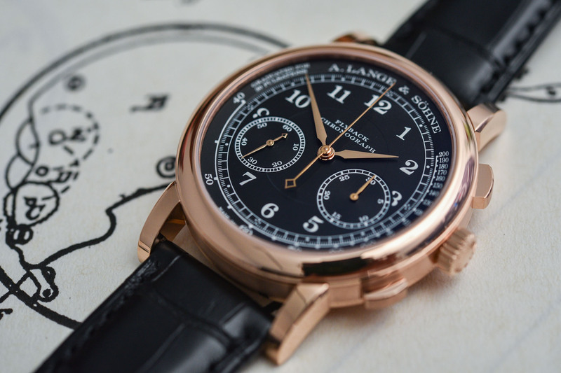 The A. Lange & Söhne 1815 Chronograph in Pink Gold