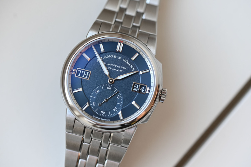 The A. Lange & Söhne Odysseus, the Brand's First Steel Sports Watch (incl. Live Pics & Video)