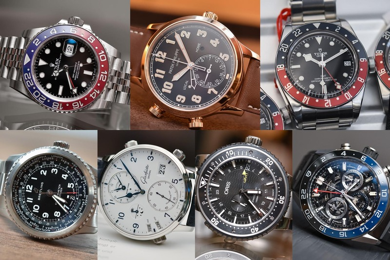 The Best GMT/Traveller's Watches Introduced at Baselworld 2018