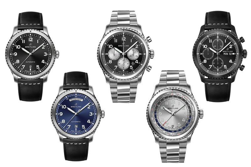 The Breitling Navitimer 8 Collection, Georges Kern's First Creation as CEO of Breitling
