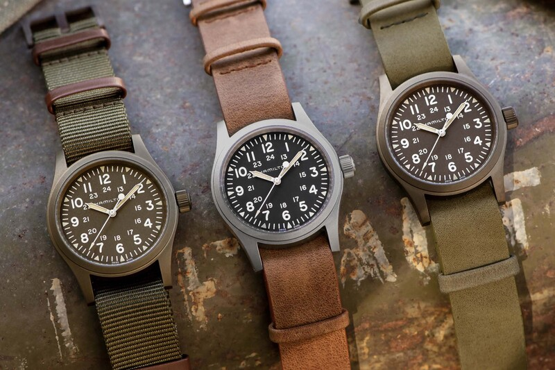 The Hamilton Khaki Field Mechanical 2019, with New Colours and New Movement