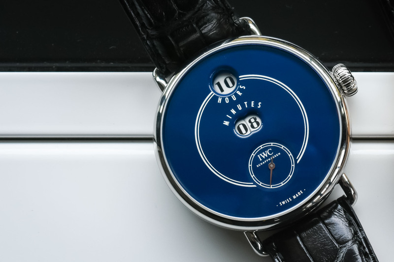 The IWC Tribute to Pallweber Edition 150 years, Now Also in Stainless Steel (SIHH 2018)