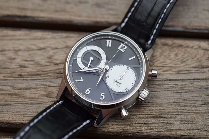 The Laine Classic Chronograph, Powered by a Highly-Decorated, Restored Valjoux 22
