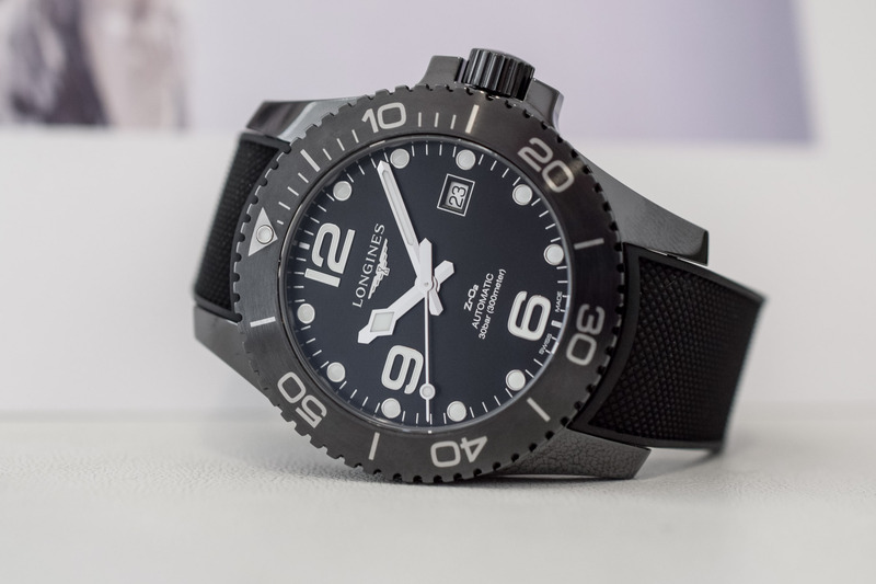 The Longines HydroConquest now in Full Black Ceramic (Hands-On Pics)