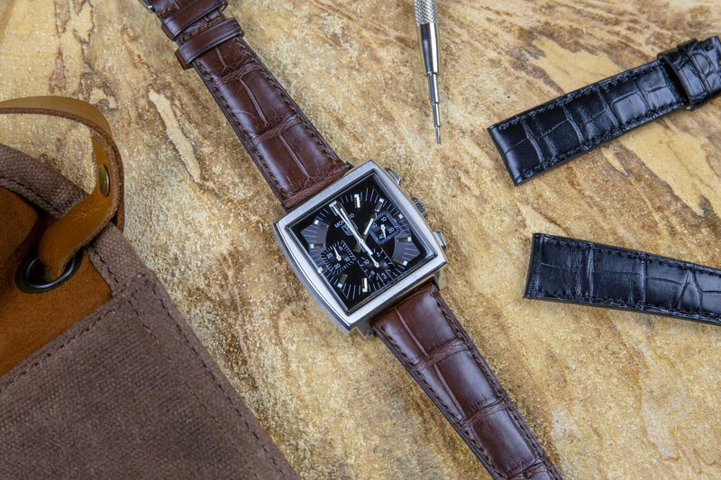 The MONOCHROME Alligator Leather Straps – Classic with a Twist