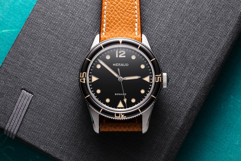 The Méraud Bonaire, a Cool, Retro-Inspired Dive Watch from Belgium