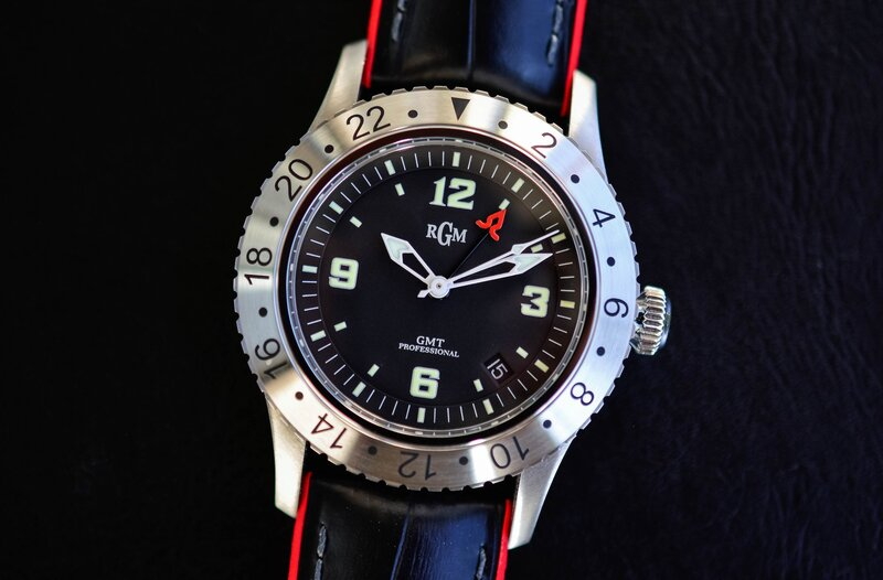 The Model 500-GMT by American Watchmaker RGM