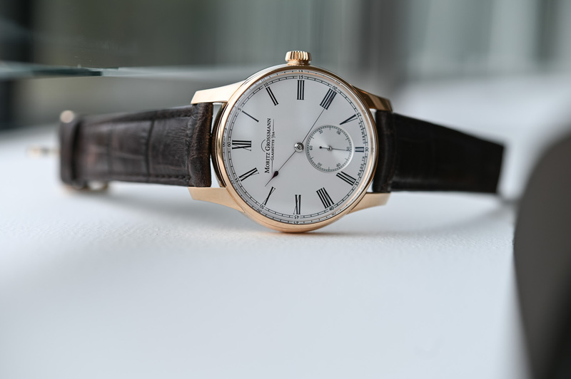 """The Moritz Grossmann Hamatic, and its """"Modernly Old-School"""" Self-Winding Hammer System"""