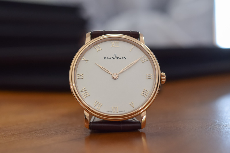 The Most Understated of all Blancpain Watches? Meet the New Villeret Extra-Plate 6605