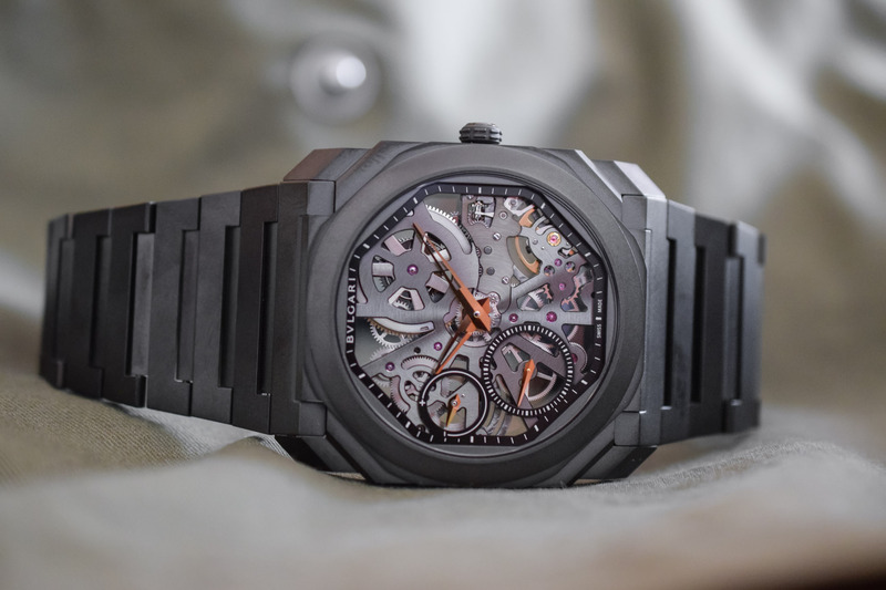 The New, All-Black versions of the Bvlgari Octo Finissimo Skeleton and L'Originale Chronograph