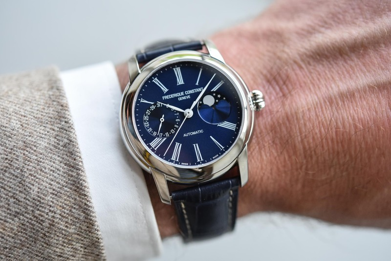 The New Frederique Constant Classics Moonphase Manufacture