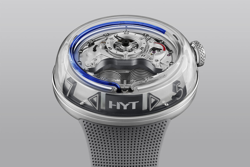 The New HYT H5, Now with Blue Fluid