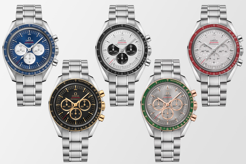 The New Omega Speedmaster Tokyo 2020 Olympics Collection