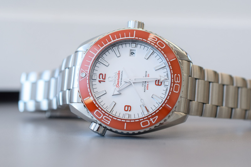 The Omega Seamaster Planet Ocean 600m Gets Back to its Roots, with an Original Orange Bezel
