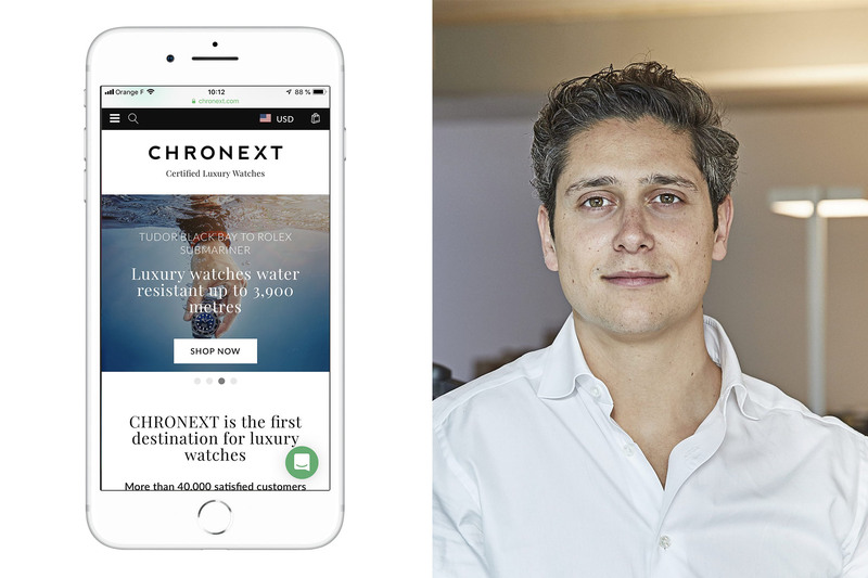 The Online Watch Market – Philipp Man from Chronext