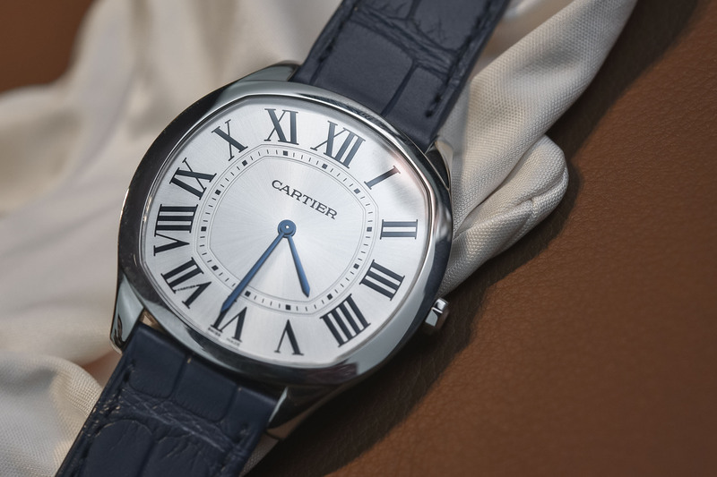 The Stylish yet Accessible Steel Edition of the Cartier Drive de Cartier Extra Flat