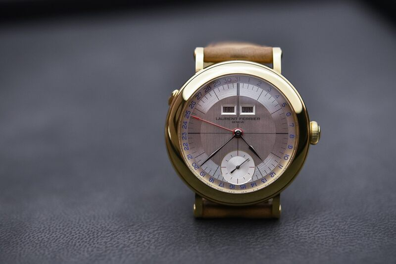 The Superb Laurent Ferrier Galet Annual Calendar School Piece in Pale Yellow Gold