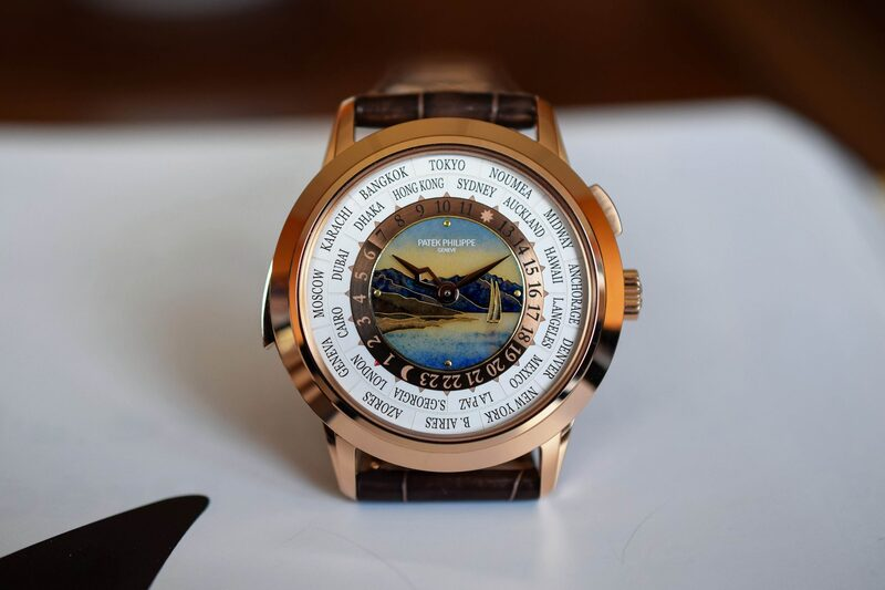 The Superb Patek Philippe World Time Minute Repeater 5531R