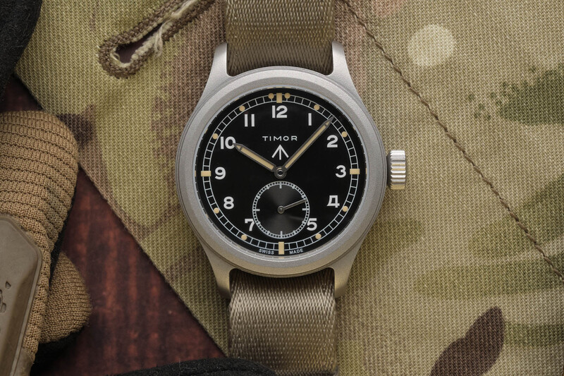 The Timor Heritage Field, a Faithful yet Accessible Reissue of a 'Dirty Dozen' Watch