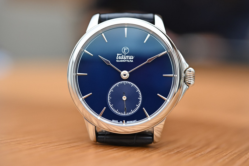 The Tutima Patria Now in Steel with Blue Enamel Dial