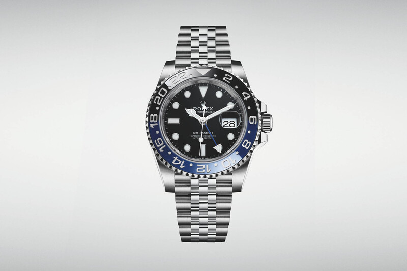 """The Updated Rolex GMT-Master II """"Batman"""" 126710BLNR, now with a Jubilee Bracelet"""