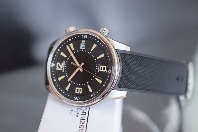 The Vintage-Inspired Jaeger-LeCoultre Polaris Date (live from SIHH 2018)