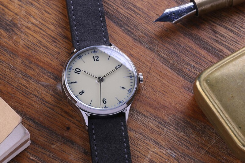 The anOrdain Model 1 – With Enamel Dial Hand-Made in Glasgow, Scotland