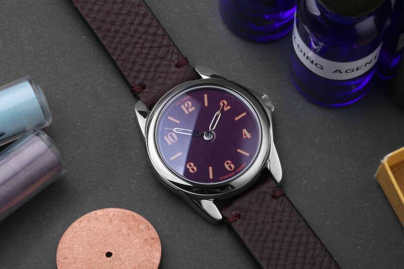 The anOrdain Model 2 – An Affordable, Sporty Sequel with Vitreous Enamel Dials from Scotland