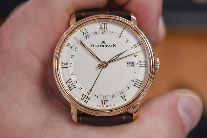 The new Blancpain Villeret GMT Date ref. 6662