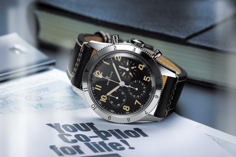 The new Breitling 765 AVI 1953 Re-Edition