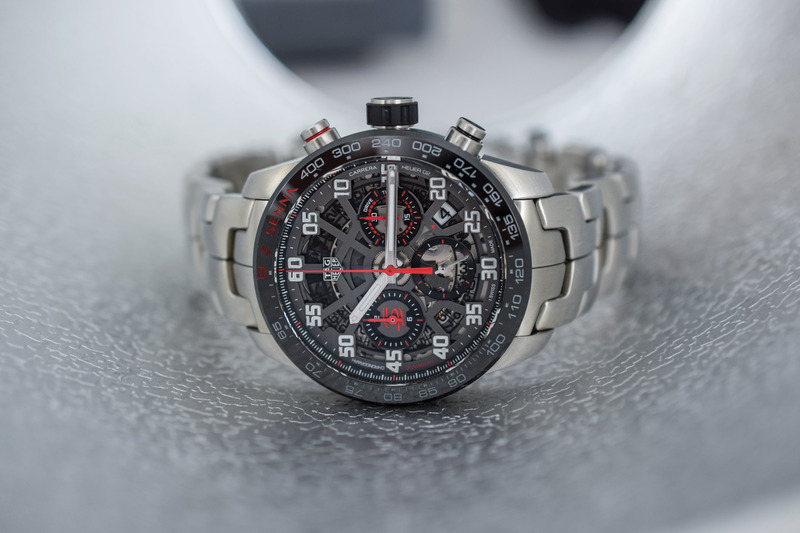 The new TAG Heuer Carrera Senna Editions (Heuer 02 and Heuer 02T)