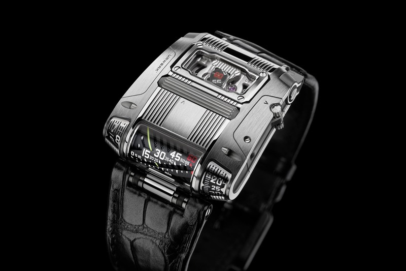 The new URWERK UR-111C – No More Wandering Hours but Still Spectacular