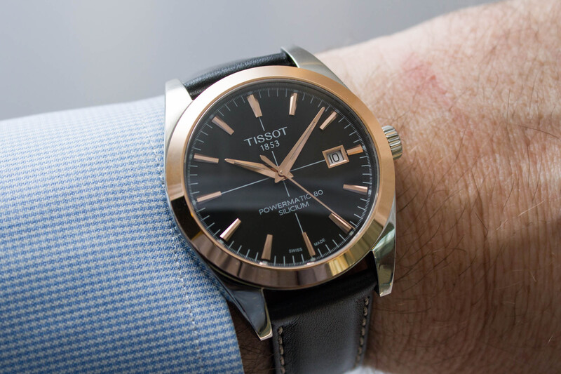 Tissot Gentleman Two-Tone Collection