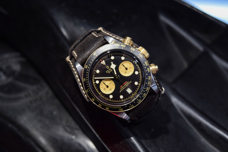 Tudor Black Bay Chrono S&G, now in Steel and Gold (Live Pics)