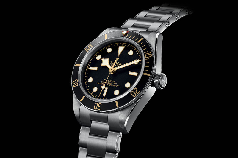 Tudor Black Bay Fifty-Eight 79030N with a new 39mm case