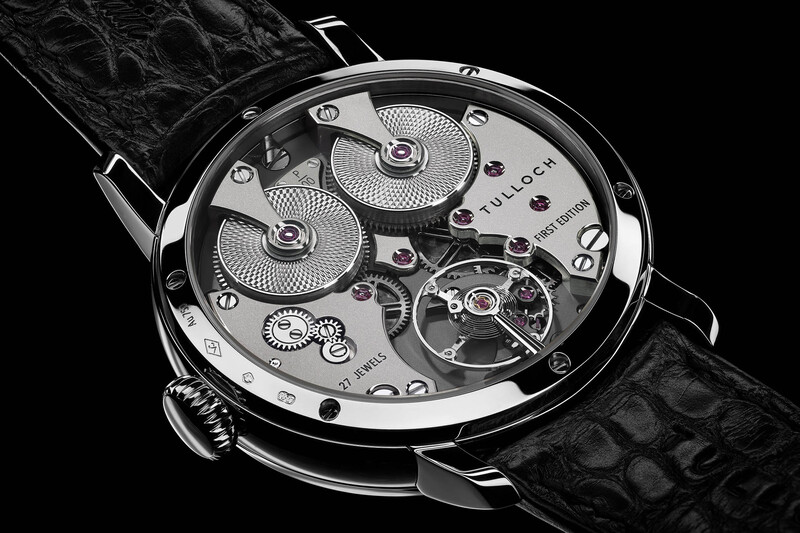 Tulloch T-01 First Edition Regulator, The First Watch of a New Independent Watchmaker