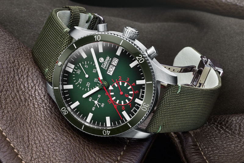 Tutima Grand Flieger Airport, Now With Coloured Ceramic Bezel