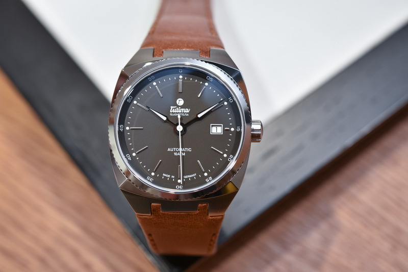 Tutima Saxon One M now in an Elegant 40mm Case with a Midnight Grey Dial