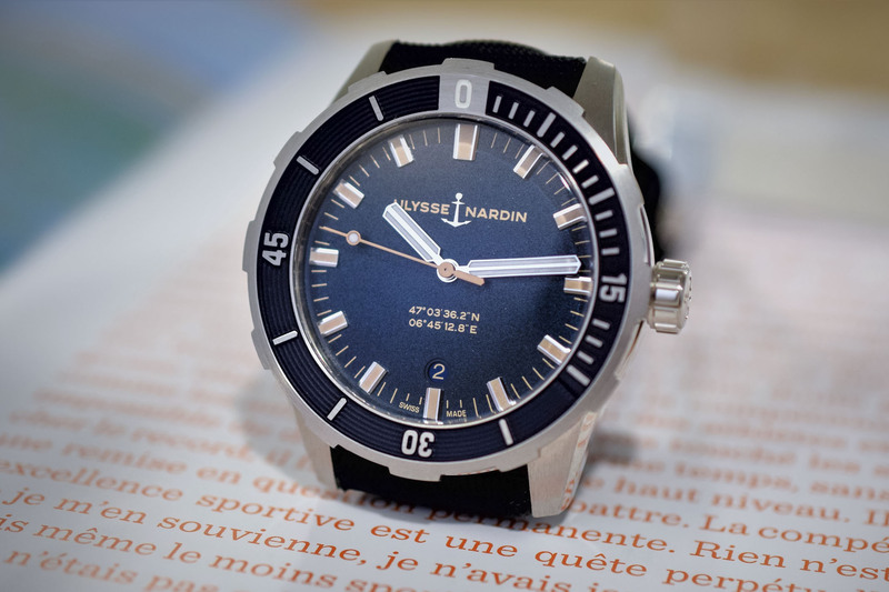 Ulysse Nardin Diver 42mm, the Brand's New Entry-Level Watch (Exclusive Live Pics)