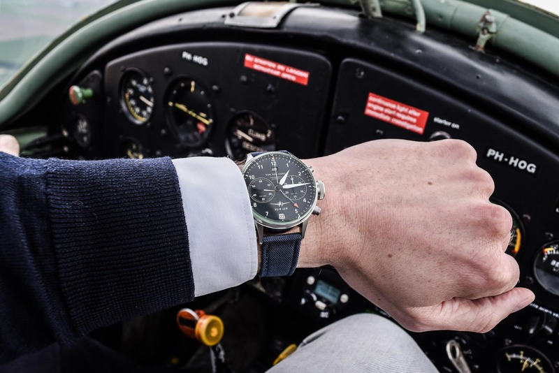 Up In the Air with a Van der Gang Vlieger Watch