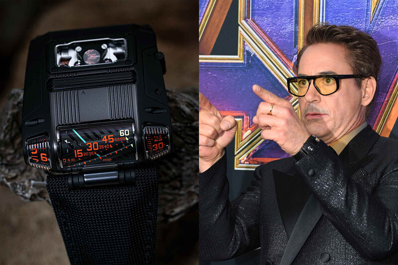 Urwerk to Auction the UR-111C Black Worn by Robert Downey Jr. for Charity