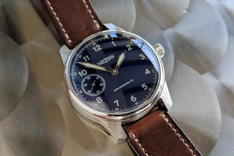 Weiss 42mm Limited American Issue Field Watch – Including an American-Made Movement