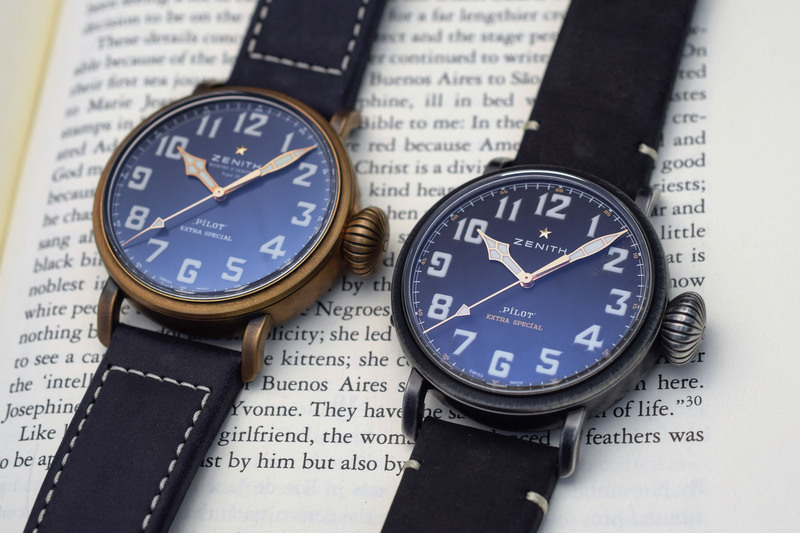 Zenith Unveils Two New Models in the Pilot Type 20 Collection